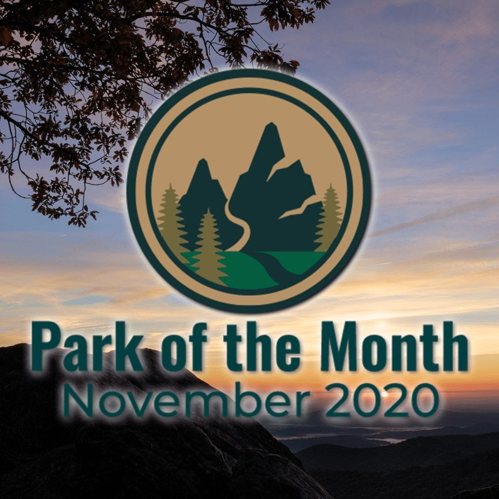 November 2020 - Park of the Month - Instagram Photo